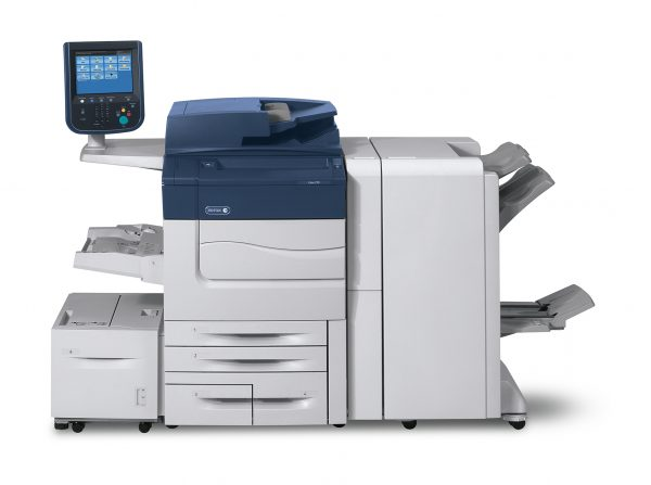 Xerox Color C60 with accessories