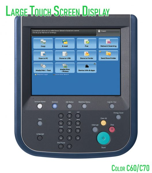 C60 Touch Screen