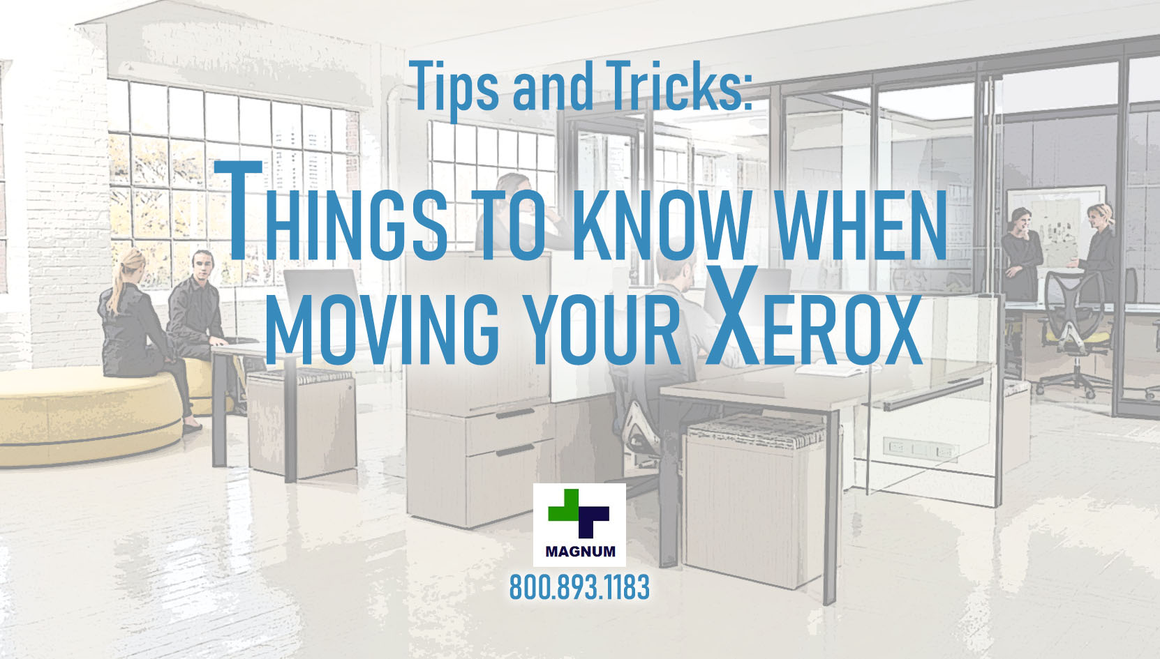 Tips for Moving Your Office Xerox Copiers or Printers