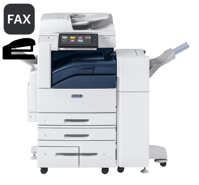 Altalink C8035 w/ Fax Kit… & Stapling Finisher