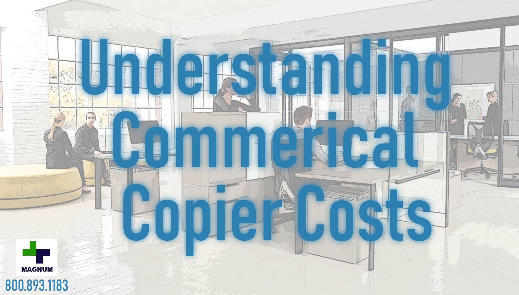 Commercial Copier Costs