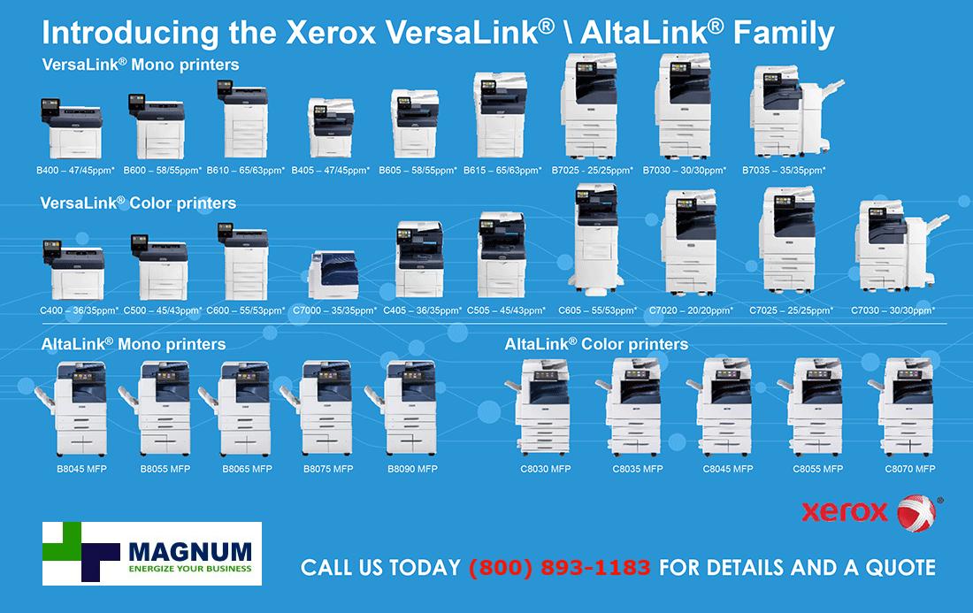 Xerox Versalink vs Xerox Altalink