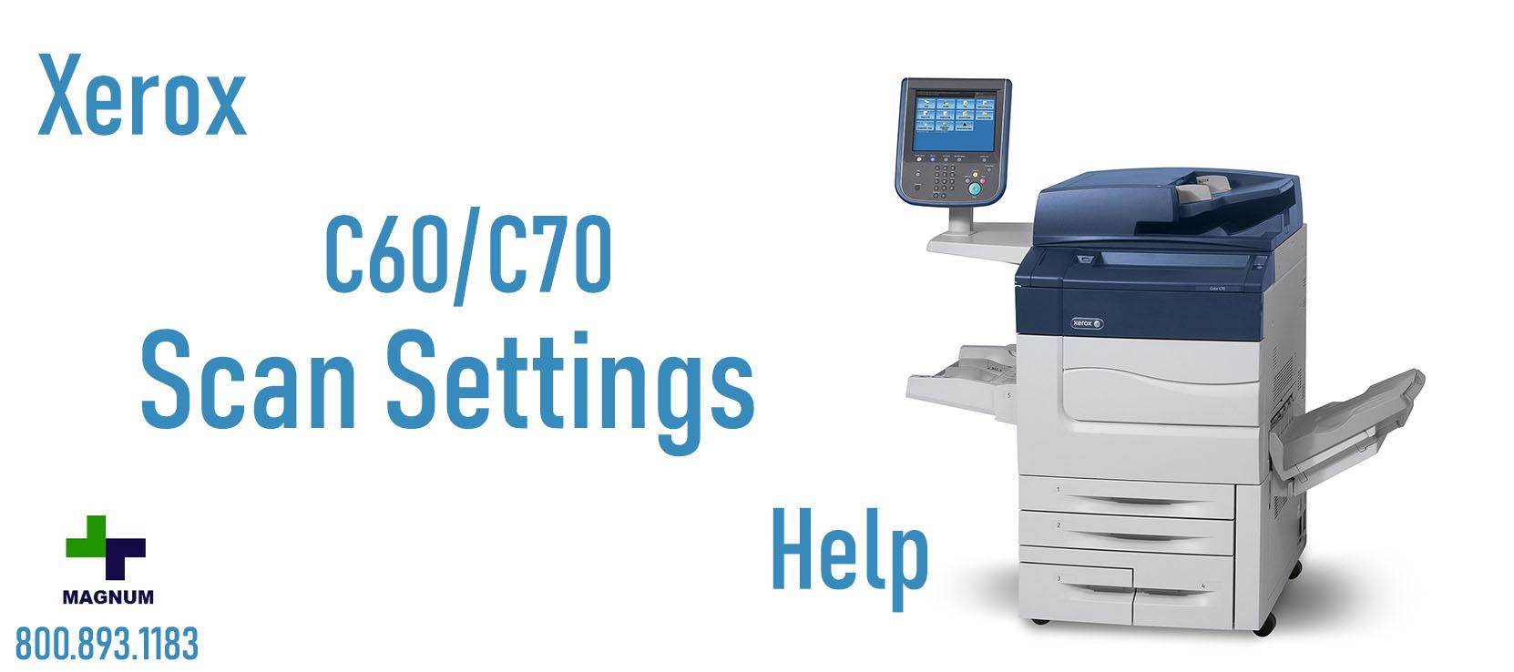 Xerox C60/C70 Help