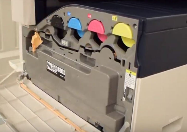 Empty Your Xerox Waste Toner Container on a Versalink | USA