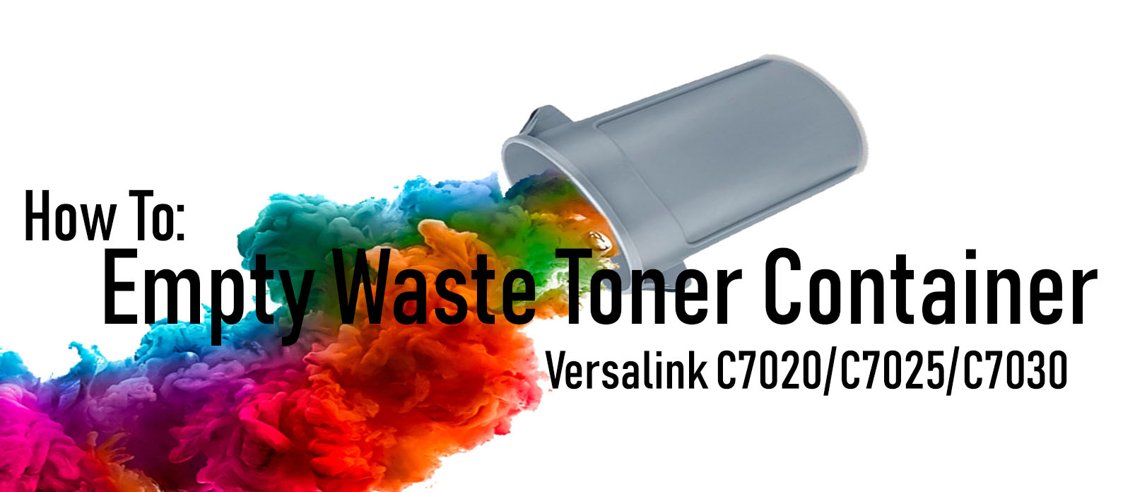 Empty Your Xerox Waste Toner Container on a Versalink