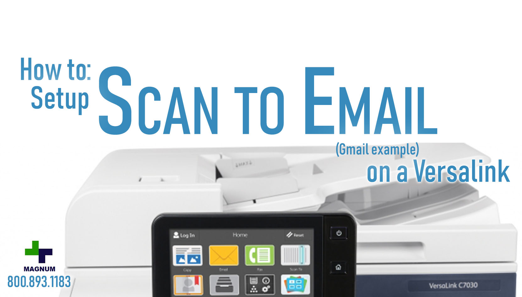 How to: Scan to Email on a Versalink