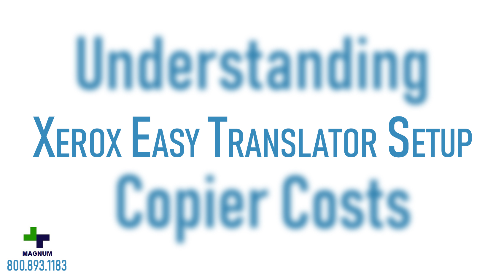 Xerox Easy Translator –