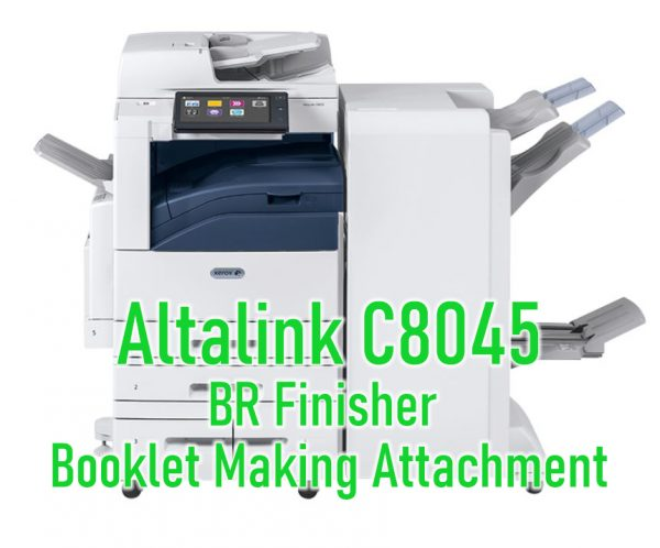 Altalink C8045 BR Finisher Booklet Making Attachment Online Lease from USA Copier Lease