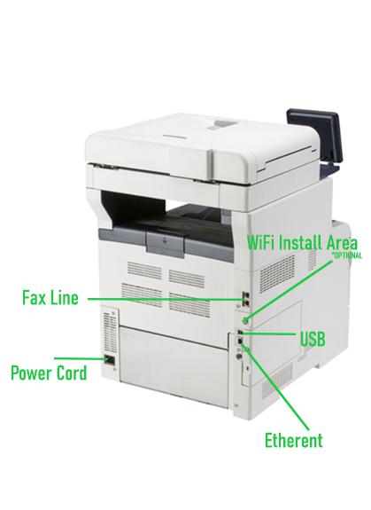 Xerox Versalink C405 Healthcare MFP backside picture