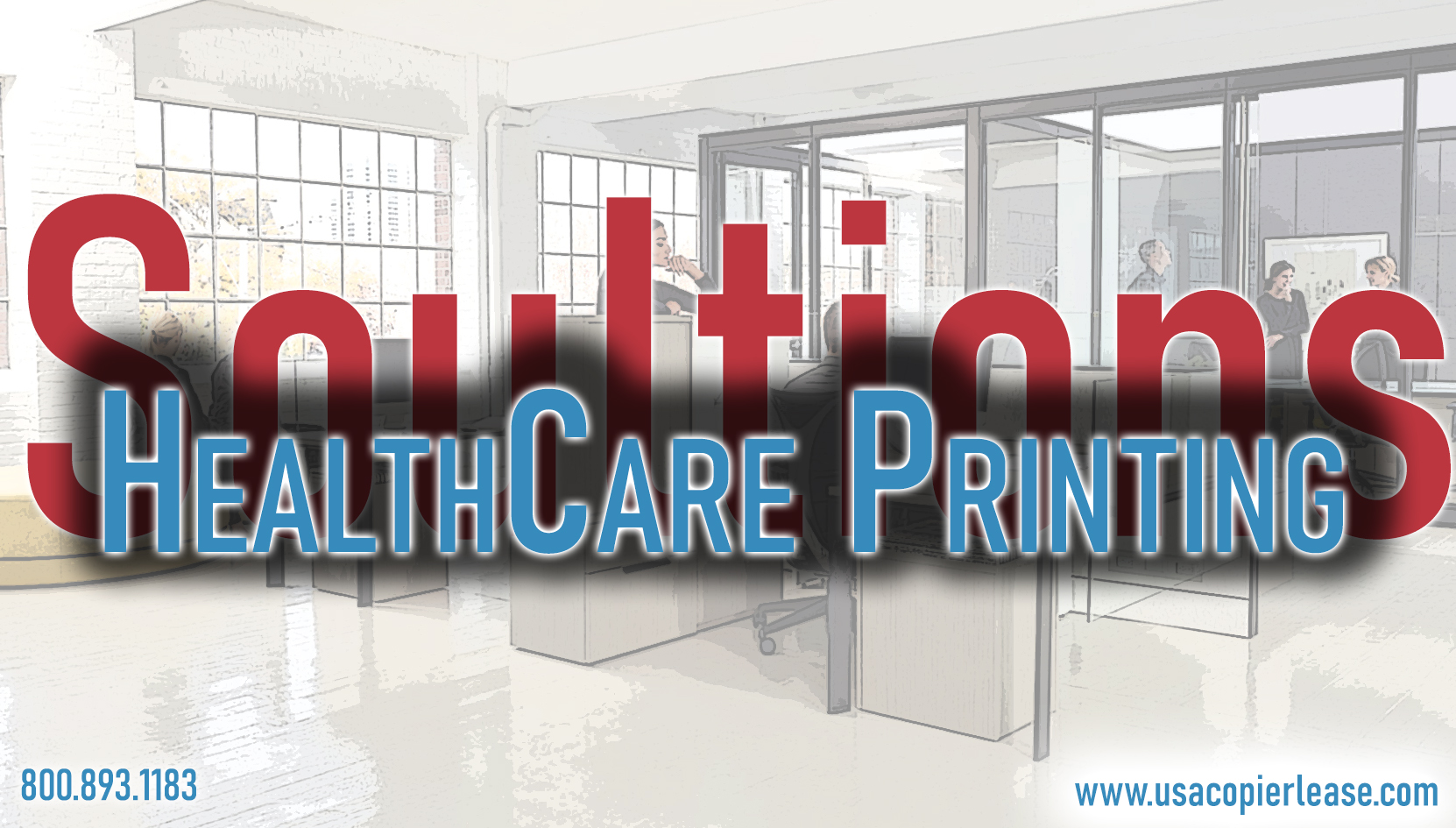 How does a HealthCare Office print in the 21st Century?
