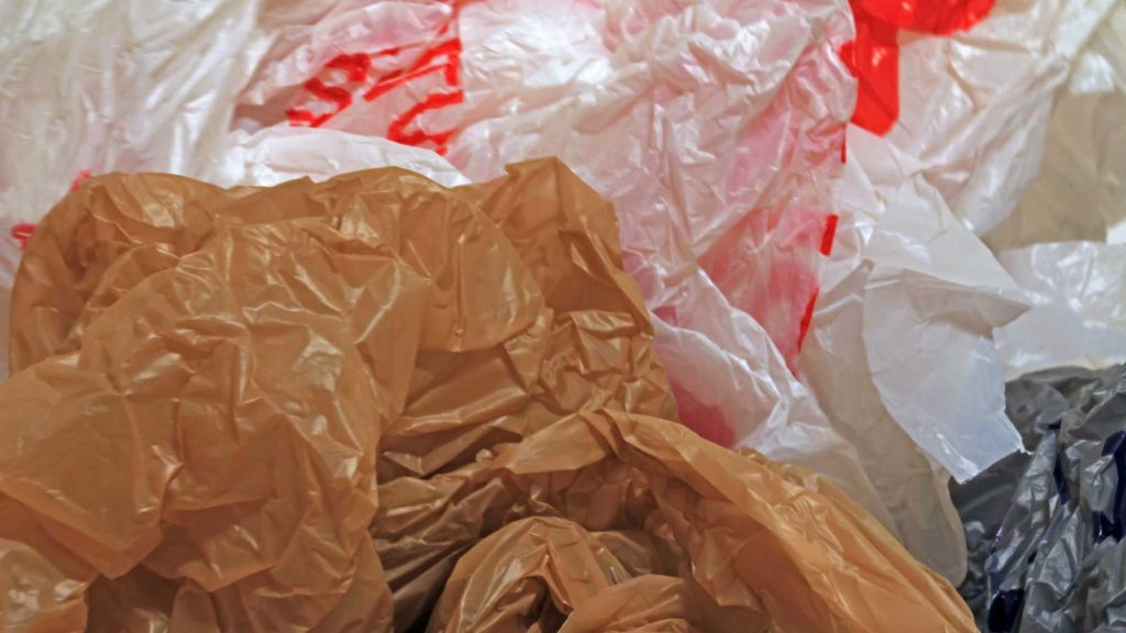 Pile of Plastic Grocery Bags