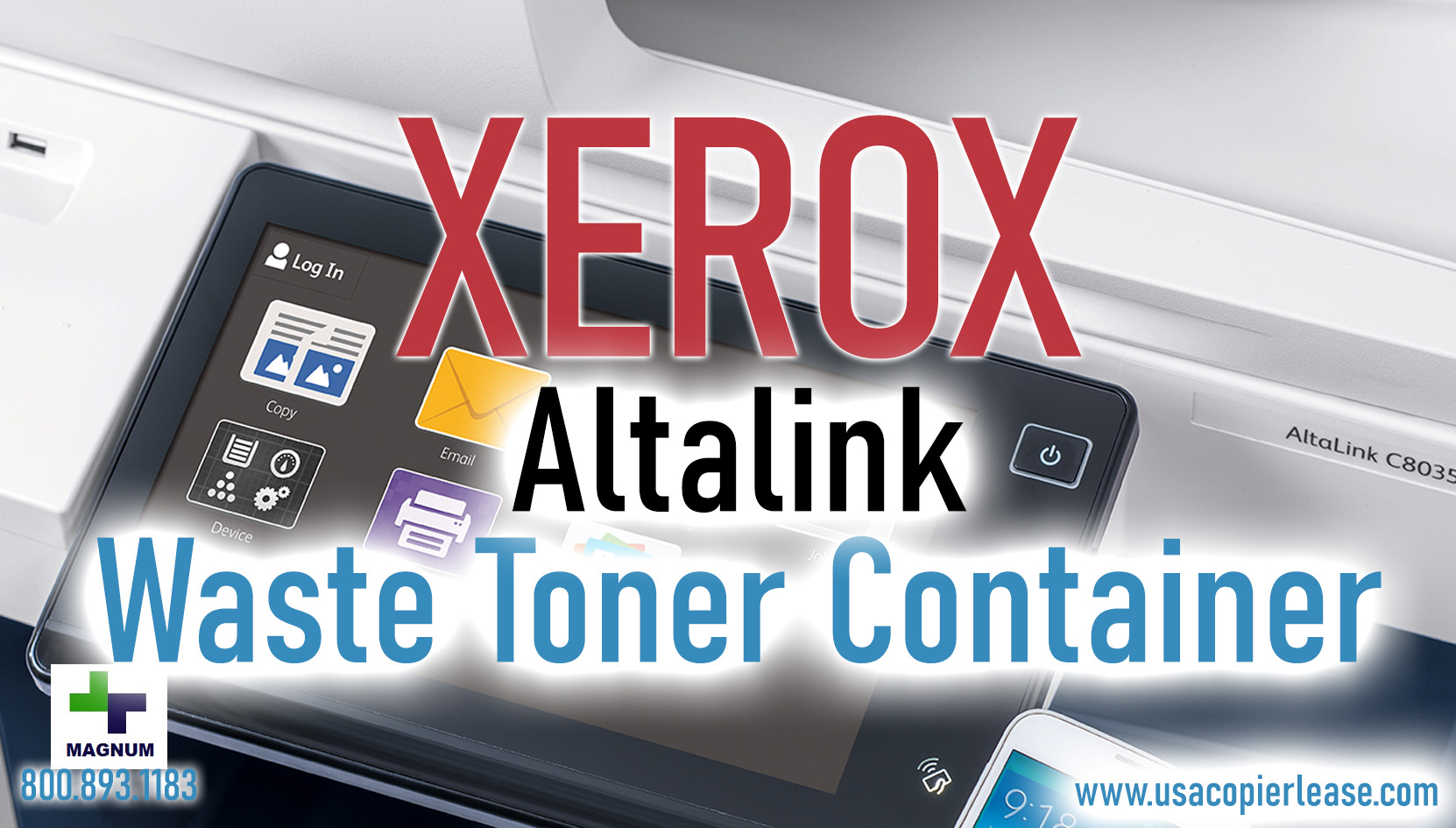 How To: Empty Waste Toner Container Xerox Altalink C Series