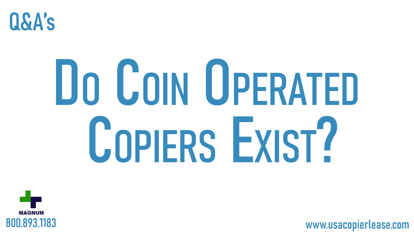 Do Coin Operated Copiers Still Exist?