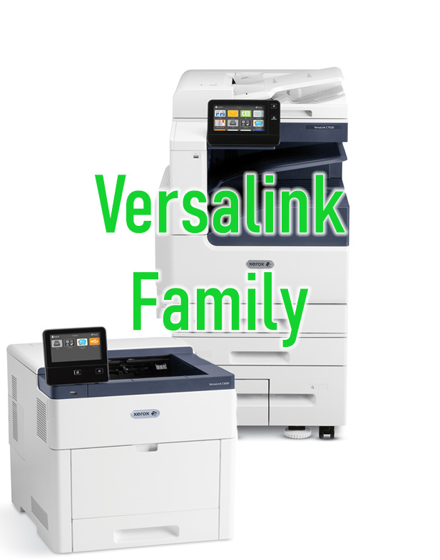 Xerox Versalink Desktop and Floorstanding