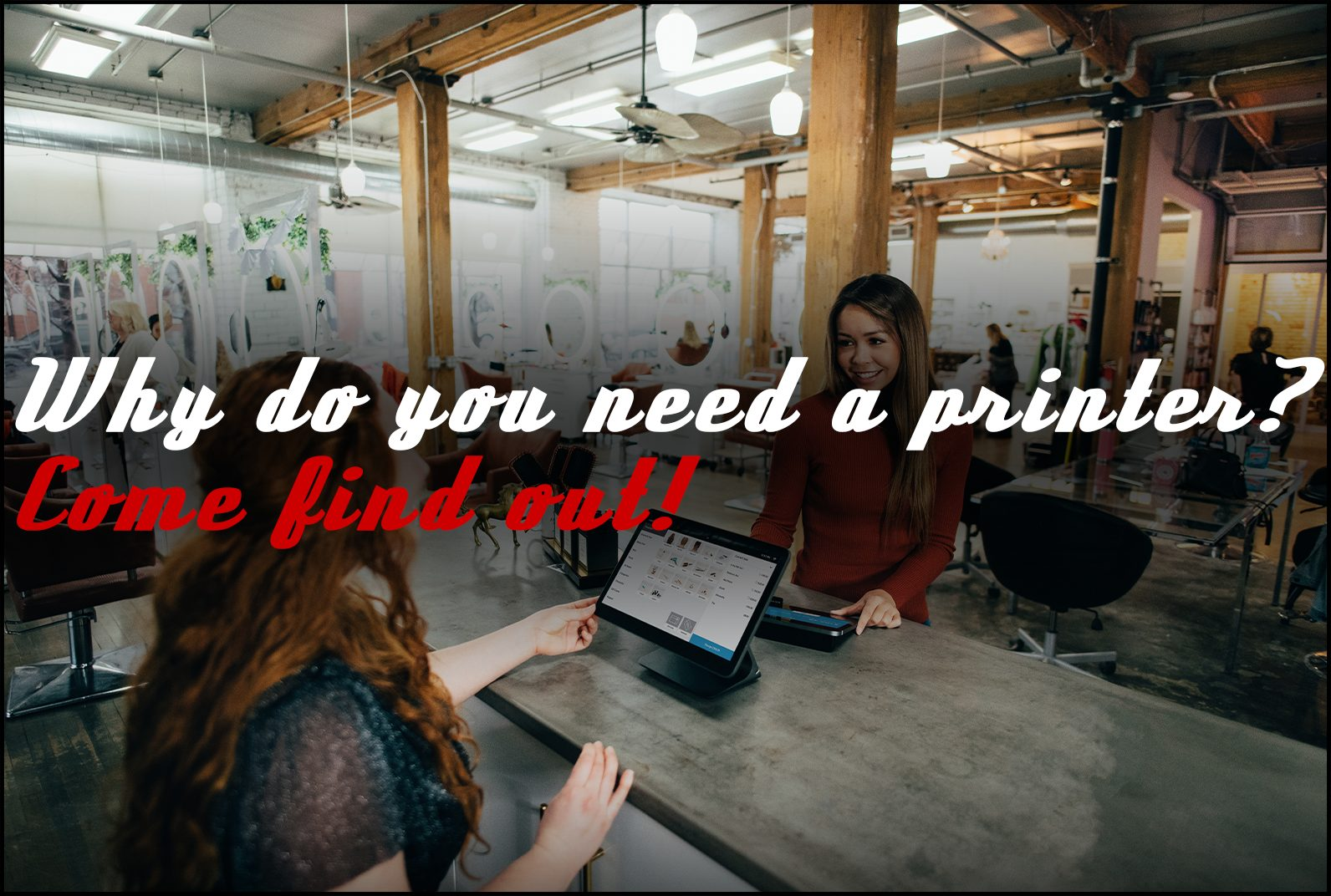 Why Should Small Businesses Lease Desktop Printers?