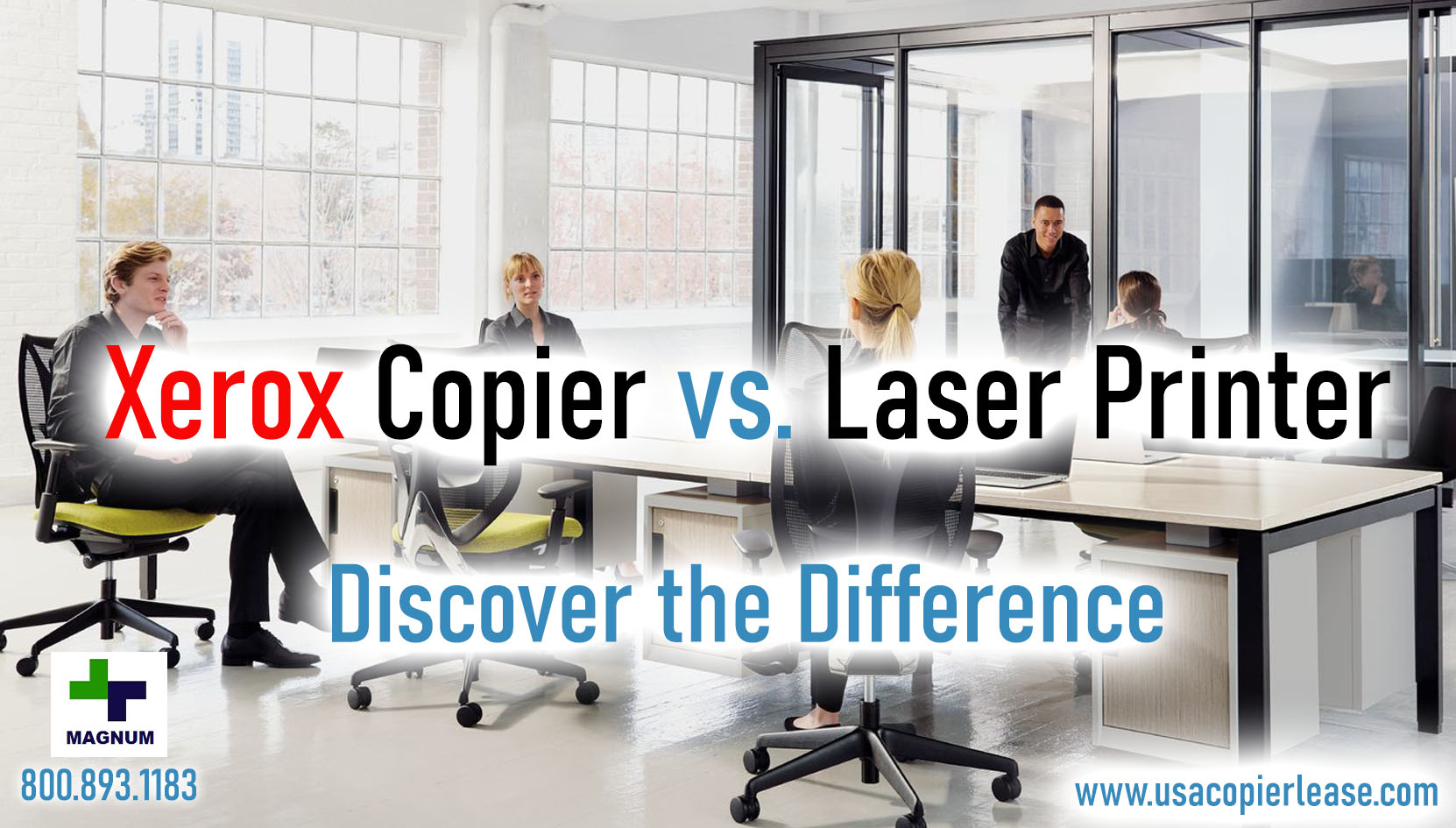How is a Xerox Copier Different From a Laser Printer?