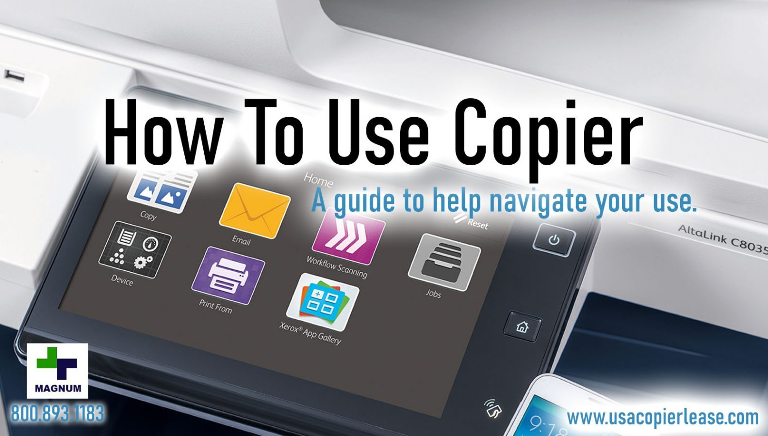 How to Use a Copy Machine